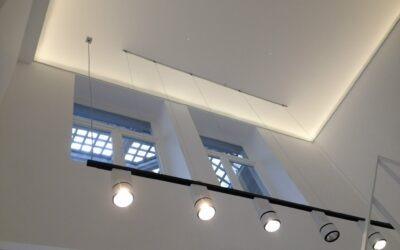 Verlichting in winkels en nieuwbouwwoningen